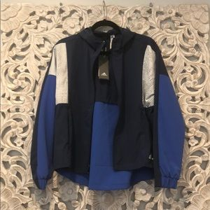 Adidas windbreaker (new)